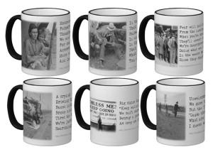 six mugs